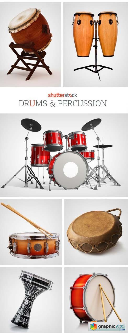 Amazing SS - Drums & Percussion, 25xJPGs