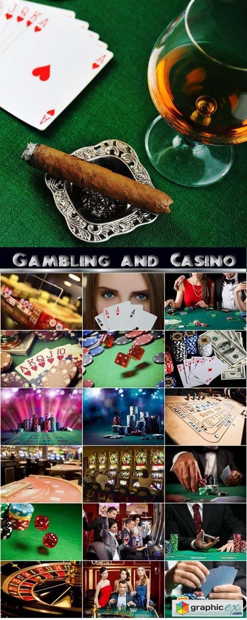 Gambling and Casino Stock Images 25xJPG