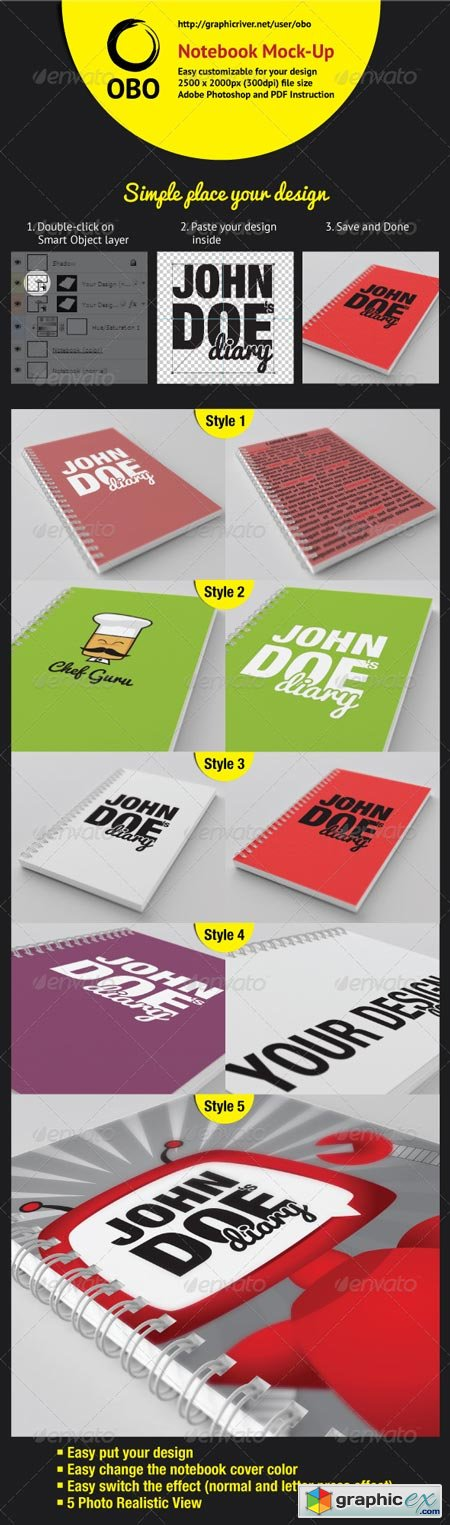 Notebook Mock-Up 2575639