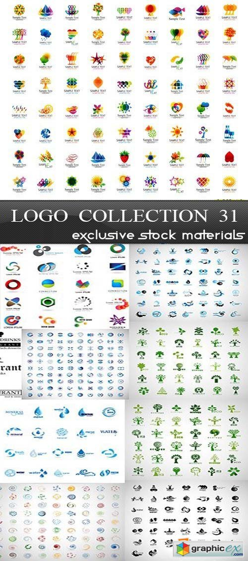 Collection of Logos vol.31, 25xEPS