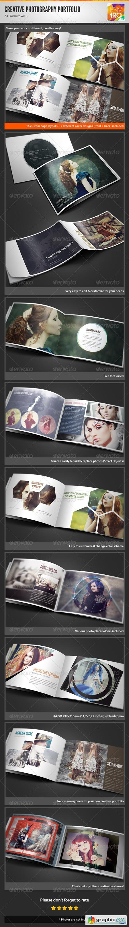 Creative Photography Portfolio A4 Brochure vol. 3 3117591