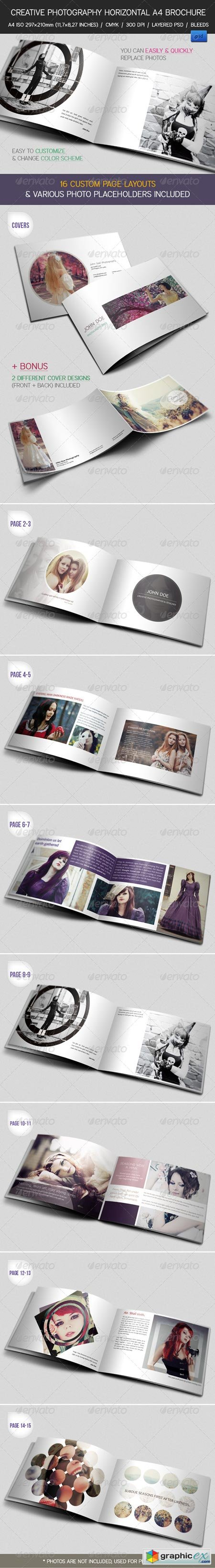 Creative Photography Portfolio A4 Brochure 2453225