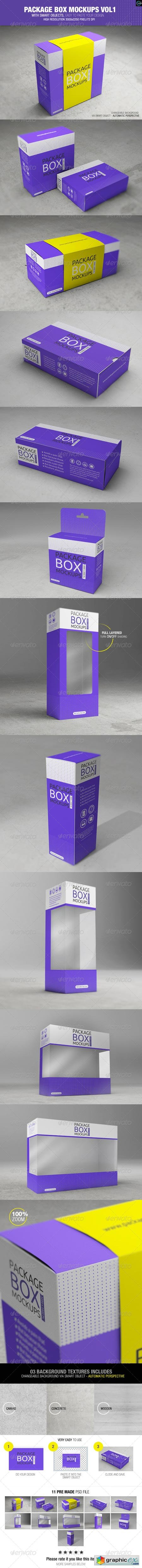 Package Box Mockups Vol1 8424020
