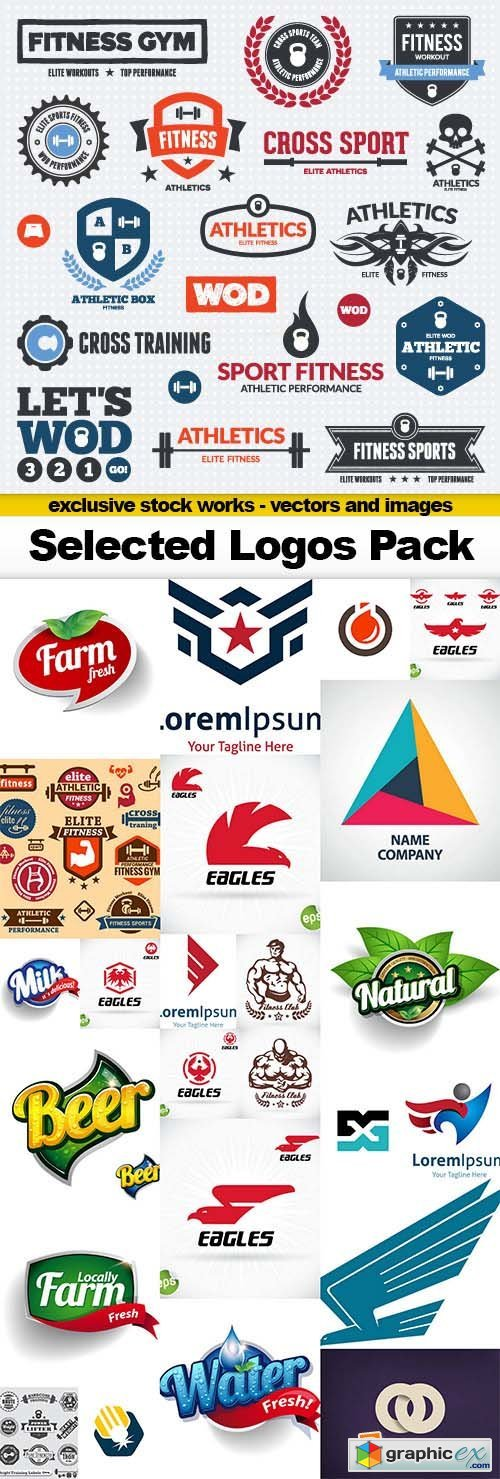 Selected Logos Pack - 25x EPS