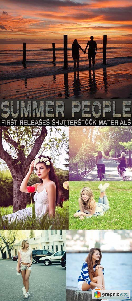 Amazing SS - Summer People, 25xJPG