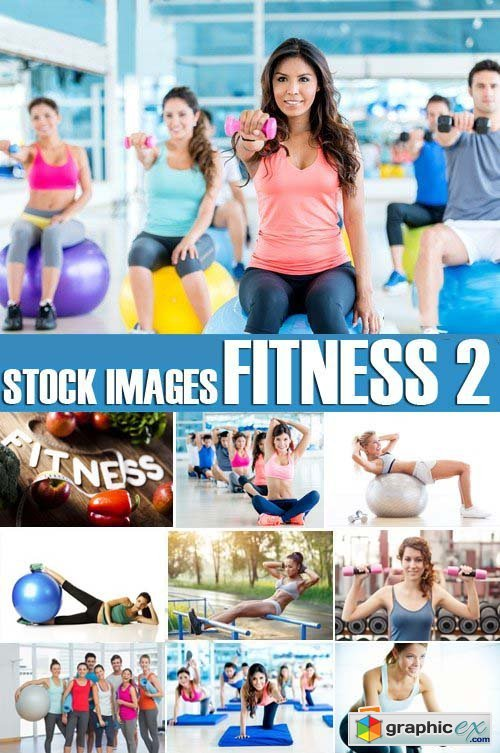 Stock Photos - Fitness 2, 25xJPG