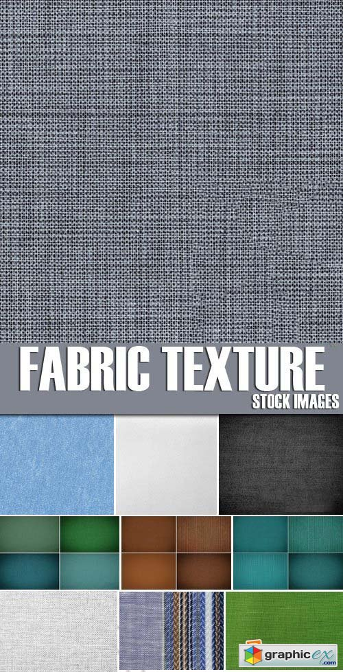 Stock Photos - Fabric texture, 25xJPG