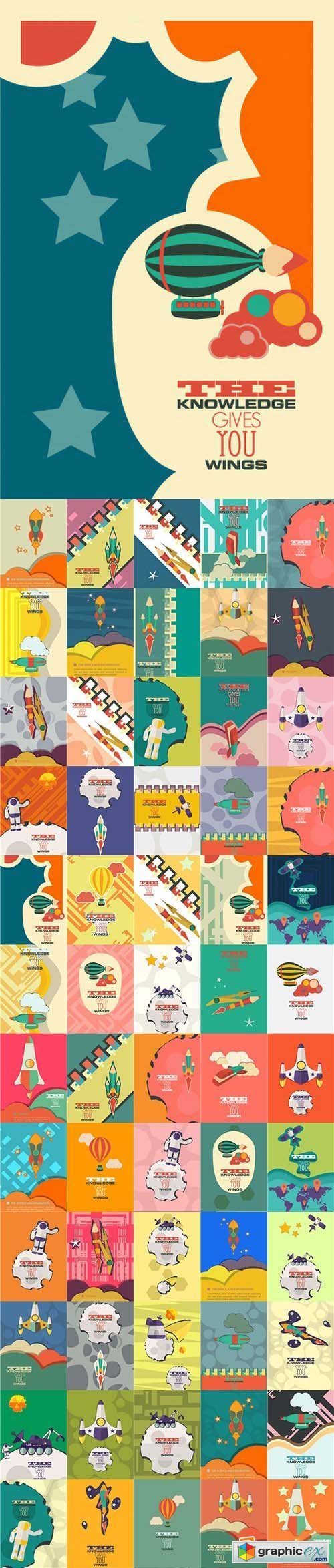 Science & Exploration Vector Pack