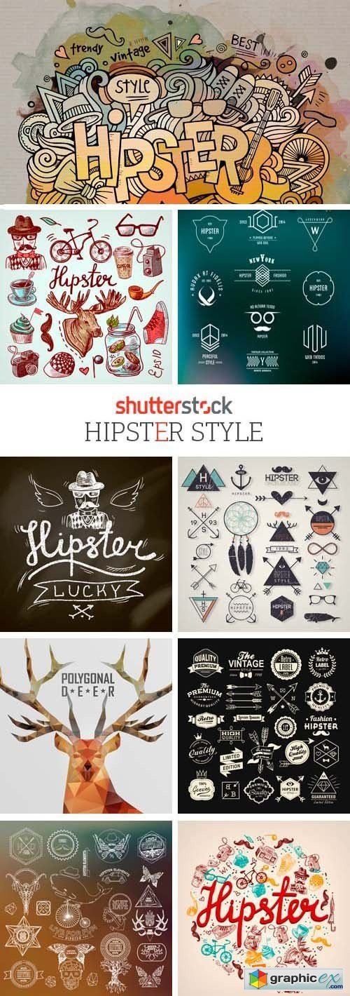 Amazing SS - Hipster Style, 25xEPS
