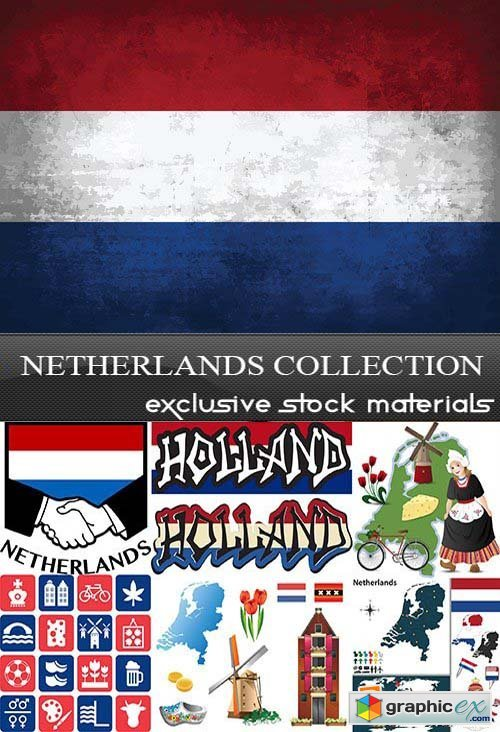 Netherlands Collection, 25xEPS
