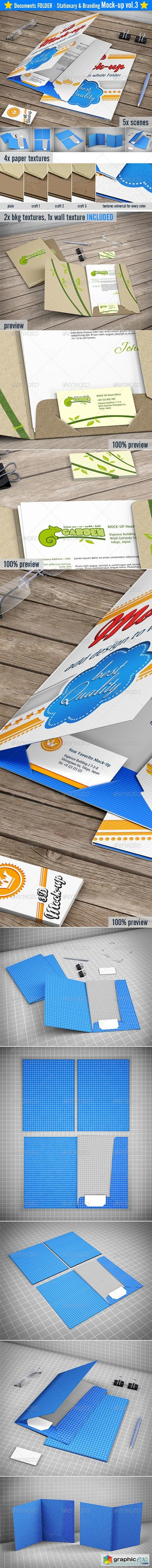 Stationery Branding Mock-up 8522228