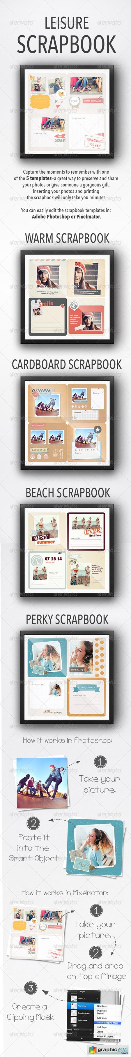 Leisure Scrapbooks 8173692