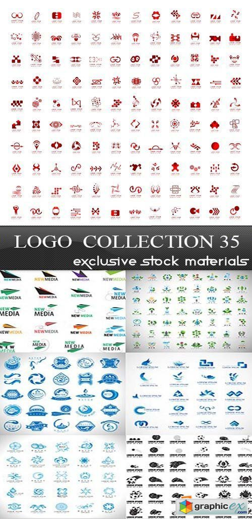 Collection of Logos vol.35, 25xEPS