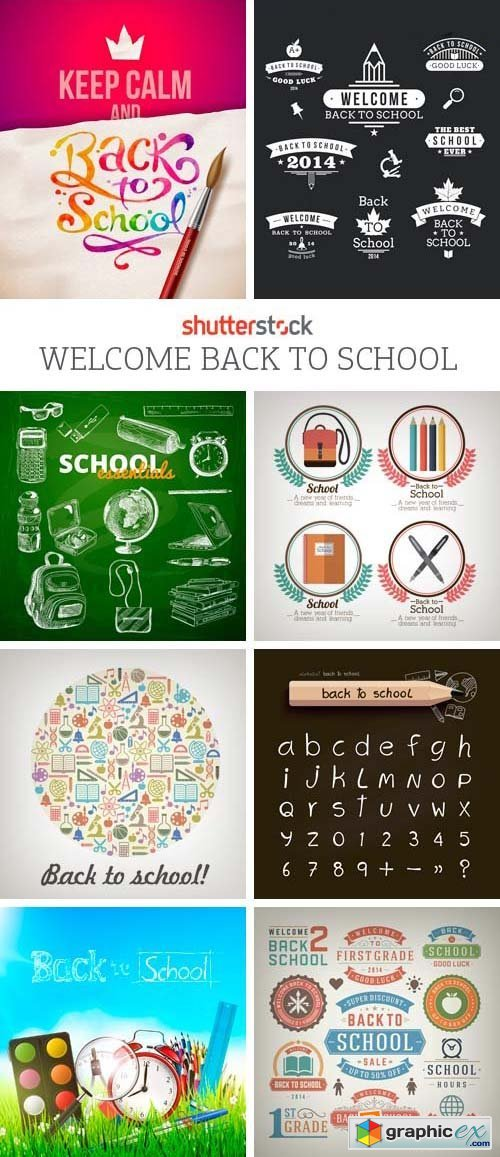 Amazing SS - Welcome Back to School, 25xEPS