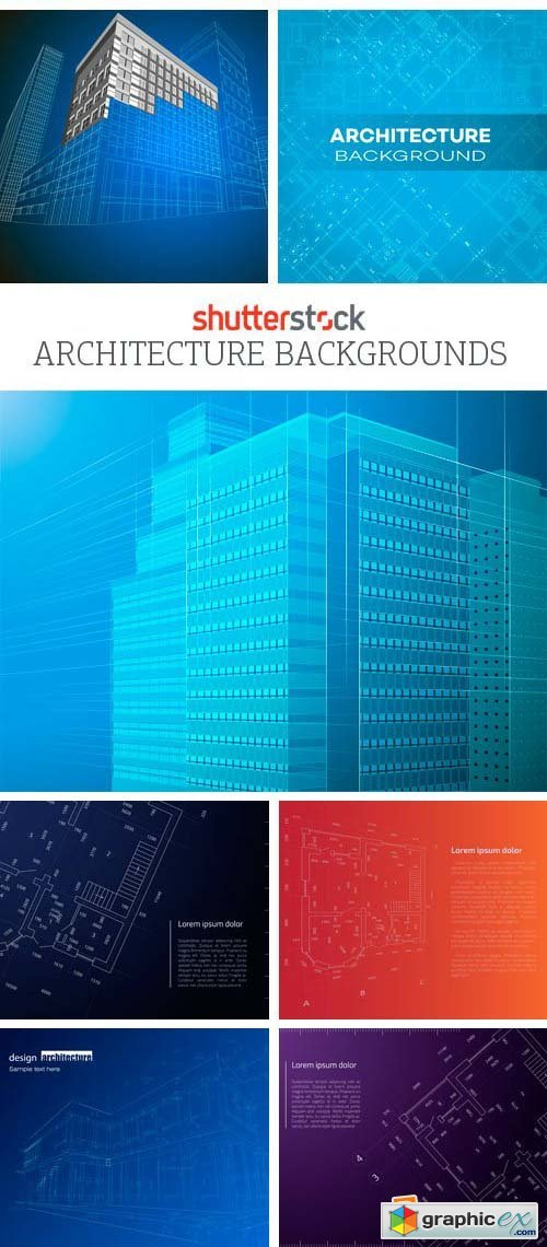 Amazing SS - Architecture Backgrounds, 25xEPS