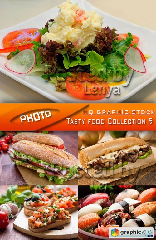 Stock Photo - Tasty food Collection 9