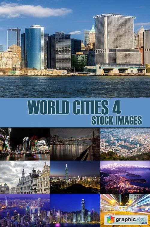Stock Photos - World Cities 4, 25xJpg
