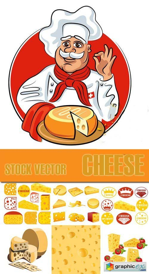 Shutterstock - Cheese, 25xEps