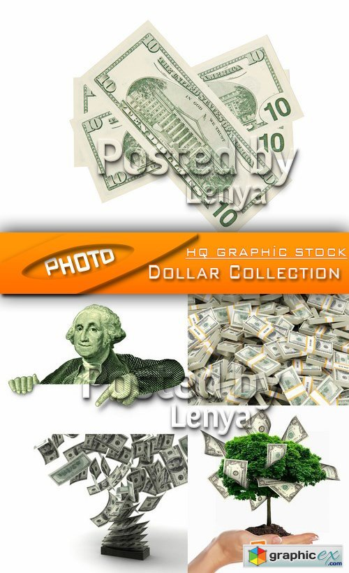 Stock Photo - Dollar Collection 01