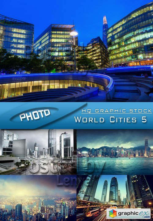 Stock Photo - World Cities 5