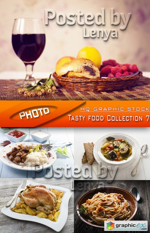 Stock Photo - Tasty food Collection 7