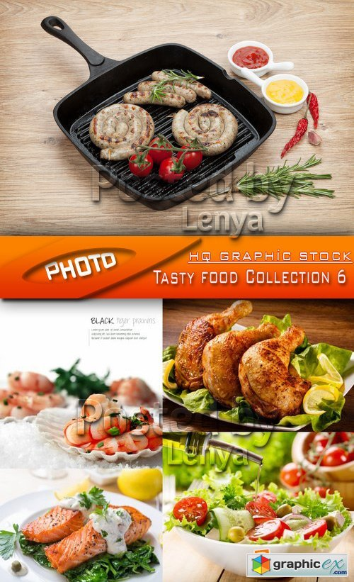 Stock Photo - Tasty food Collection 6