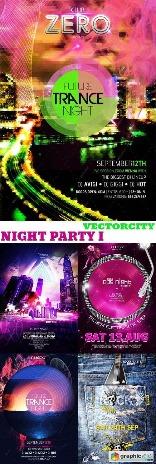 VectorCity Night Party Pack 1