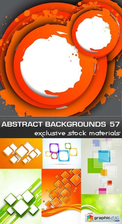 Collection of Vector Abstract Backgrounds Vol.57, 25xEPS