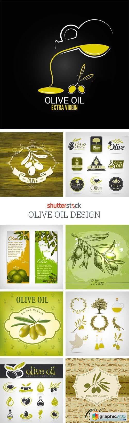 Amazing SS - Olive Oil Design, 25xEPS