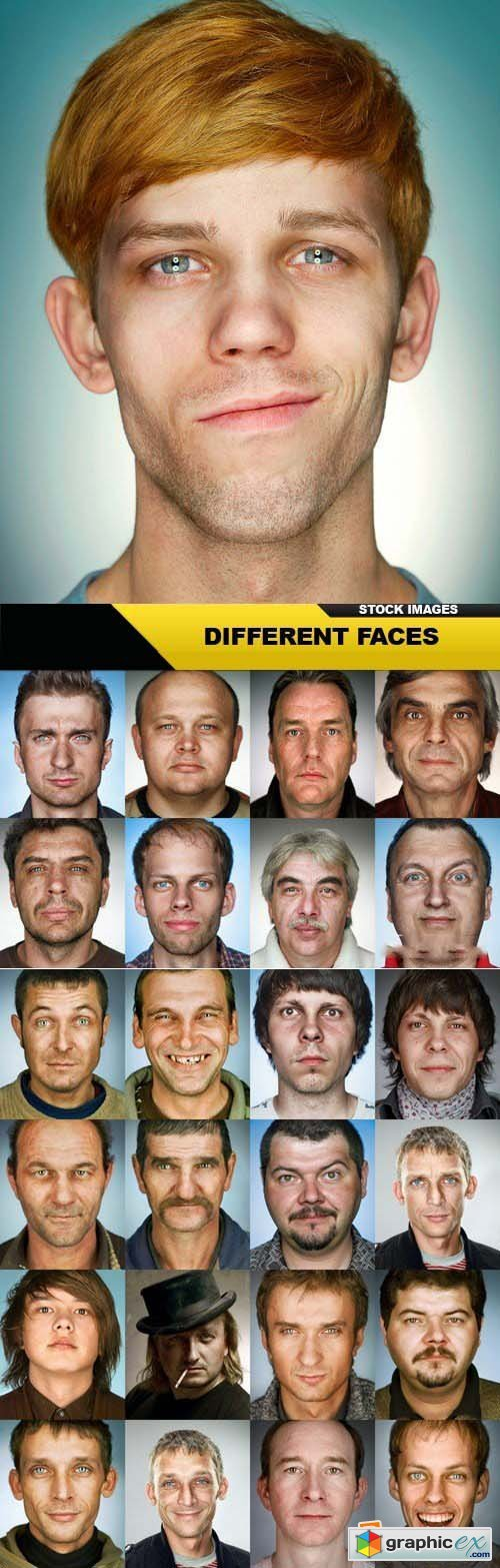 Different Faces 25xJPG