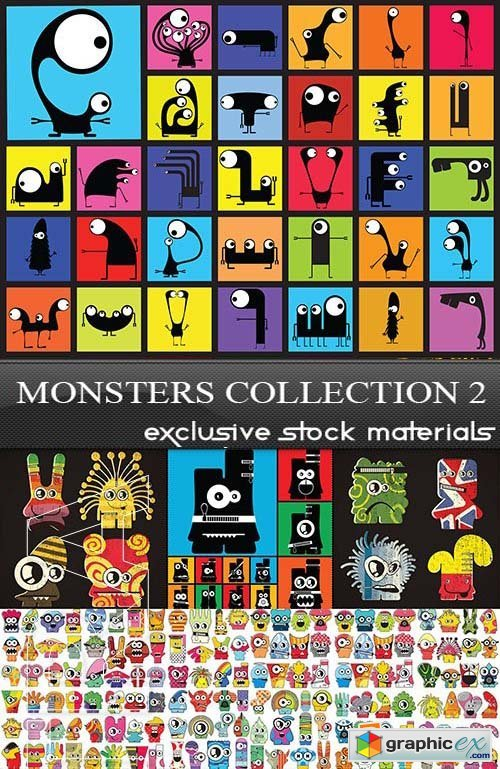 Monsters Collection 2, 25xEPS