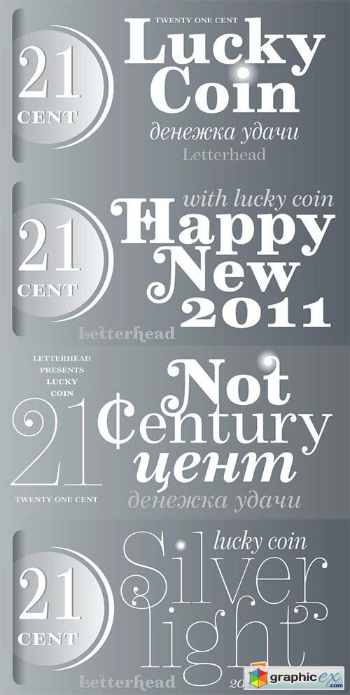 21 Century Font Family- 10 Fonts $450