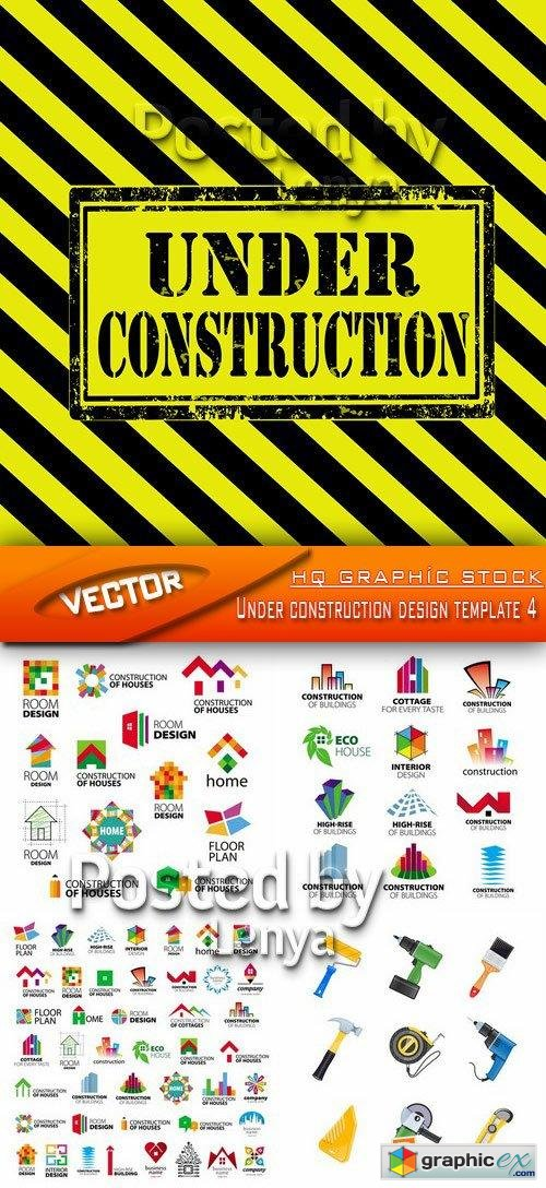 Under construction design template 4