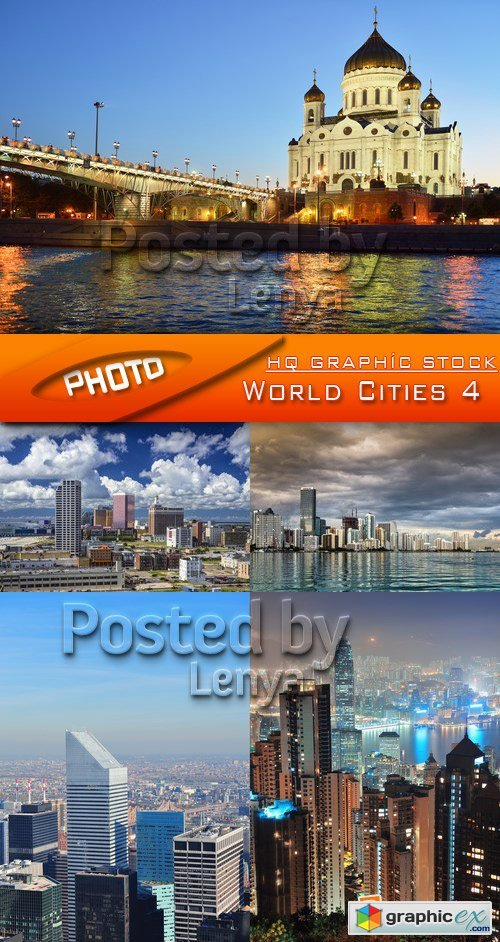 Stock Photo - World Cities 4