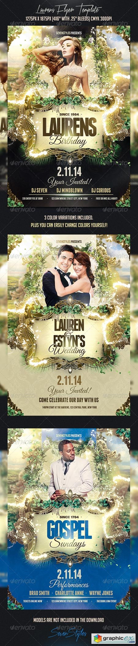 Laurens Flyer Template 7354738