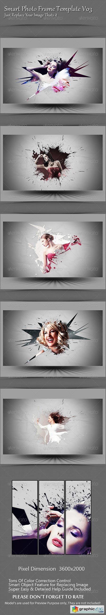 Smart Photo Frame Template V03 8429425