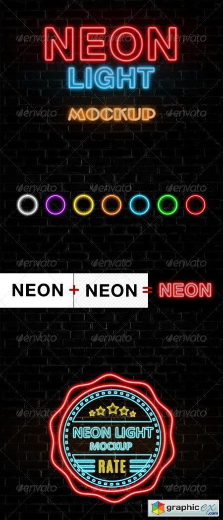 Neon Lights Effect 8608562