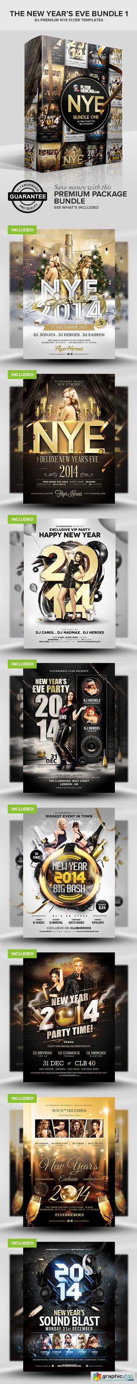 FlyerHeroes The New Year�s Eve Bundle 1