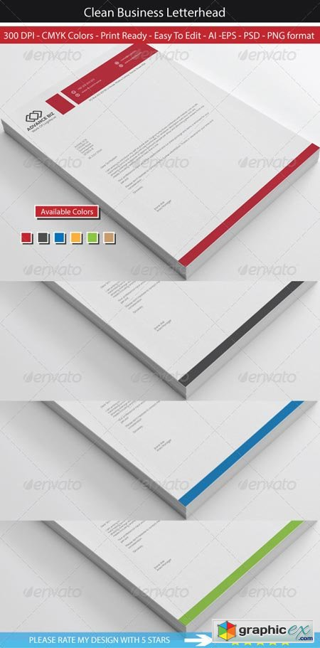Corporate Advance Letterhead 8569441
