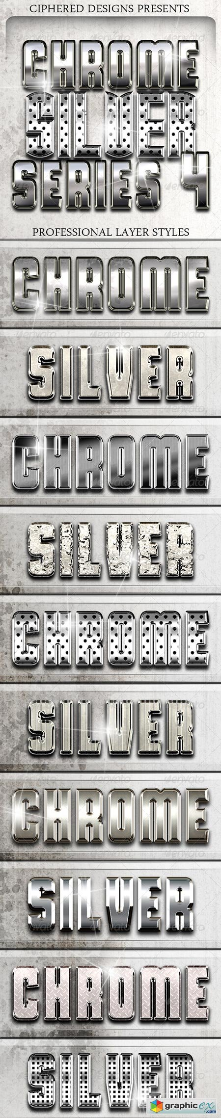 Chrome & Silver Series 4 - Pro Text Effects 8488899