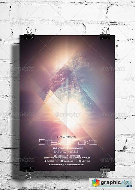 Futuristic Flyer Poster Vol. 01 6785873
