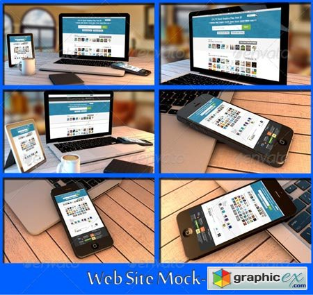 Web Site Mock-Up 8597883