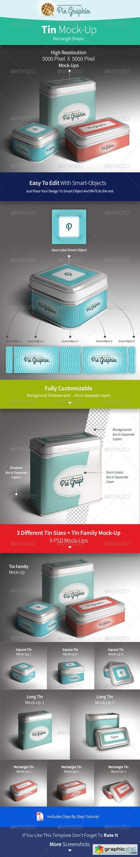 Tin Can Mock-Up Vol.2 (Rectangle) 8536958