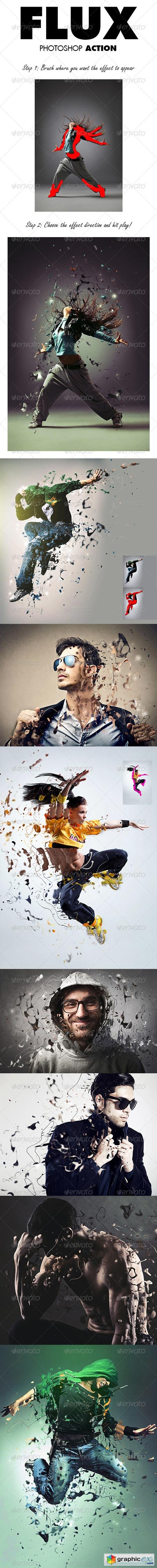 Flux Photoshop Action 8557339