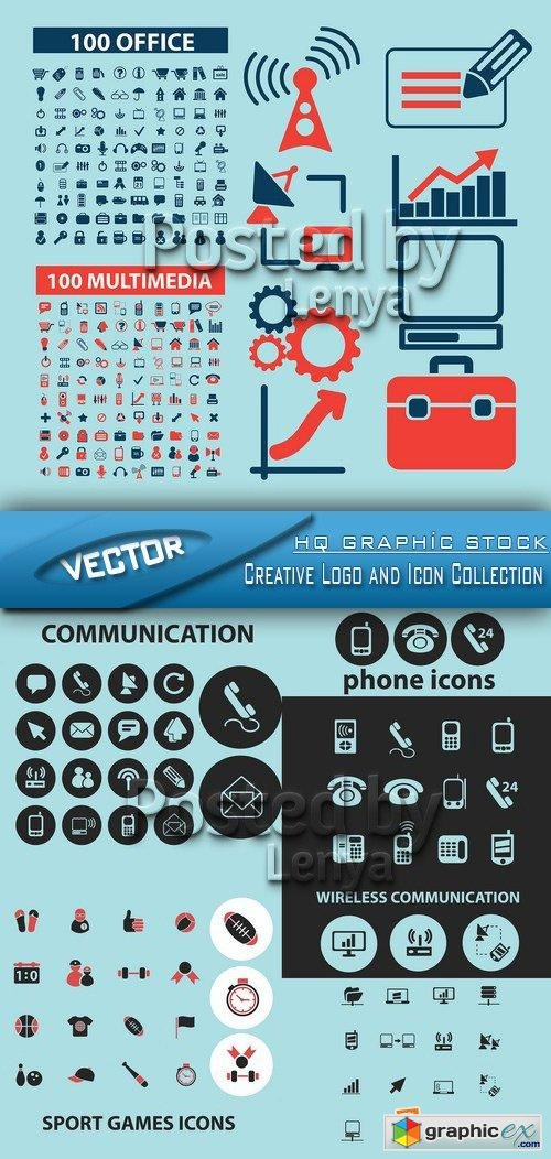 Creative Logo and Icon Collection