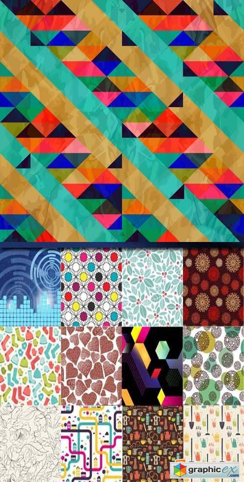 Abstract background set, 26xEPS