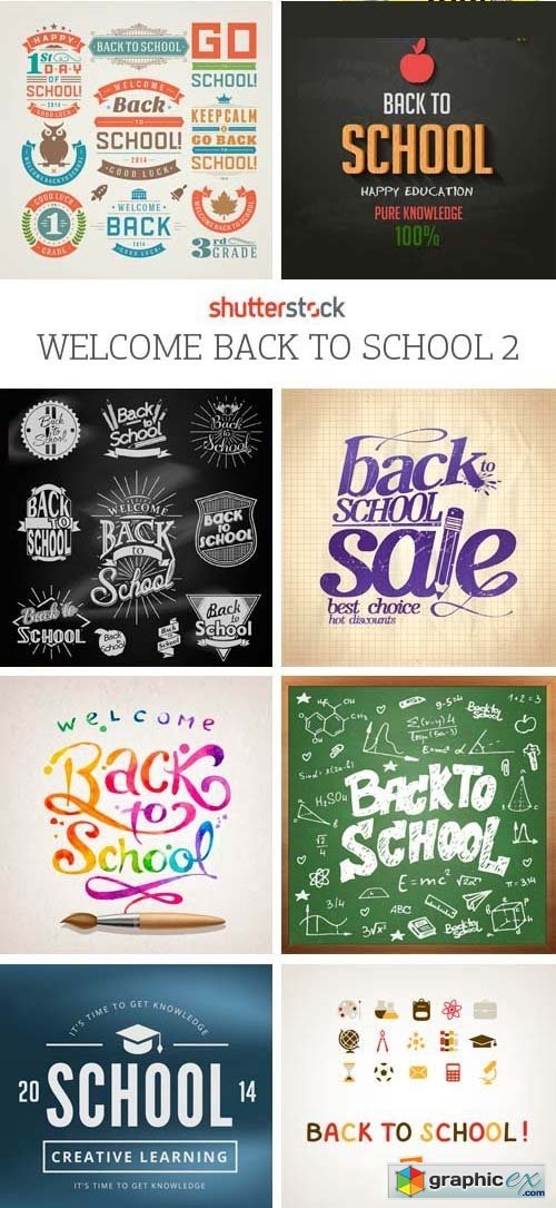 Amazing SS - Welcome Back to School 2, 25xEPS