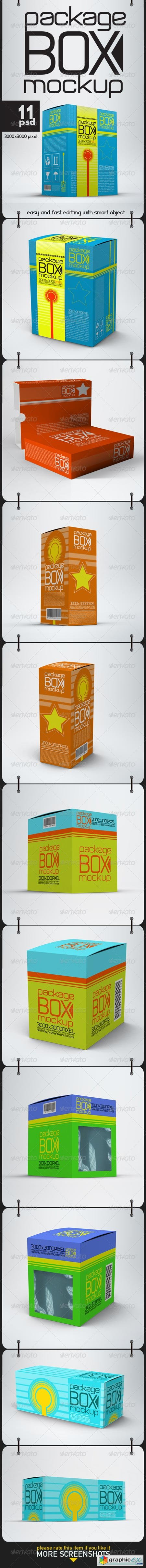 Package Box Mock Ups 8690129