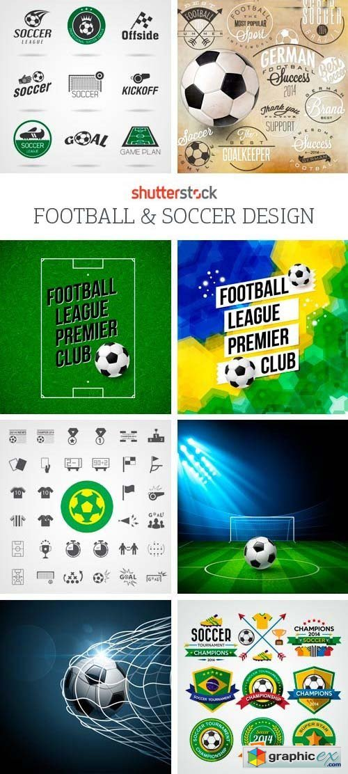 Amazing SS - Football & Soccer Design, 25xEPS