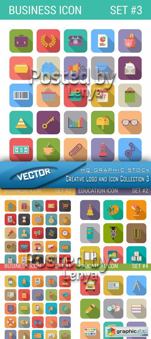 Creative Logo and Icon Collection 3